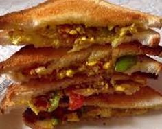 Paneer sandwiches recipe is a nutritious snack and healthy vegetarian sandwich recipe for kids.It is great for breakfast, brunch and even school lunchboxes.