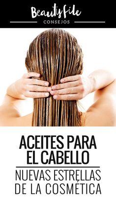 Aceite para el pelo: por qué y cómo usarlos. Tips Belleza, Bobby Pins, Hair Accessories, Beauty, Hair Care, Critical Care Nursing, Trending Hairstyles, Natural Cosmetics, Style Short Hair