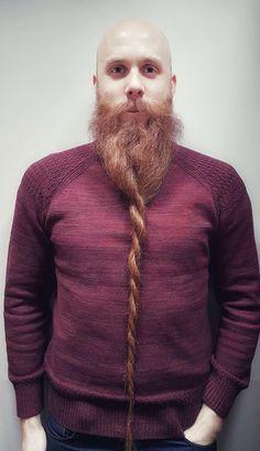 Barbes, Tresse, Hommes Chauves, Belles Barbes, Hommes À Barbe, Chandail Pour
