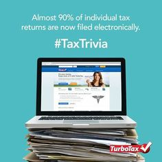 Taxpayers are increasingly tech-savvy when it comes to #taxfiling at #Turbotax.com