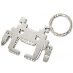 Porte-Clefs Space Invaders Multi-Outils