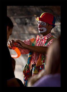 Le clown du tunel