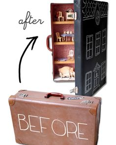 DIY Dollhouse - This is great!!!