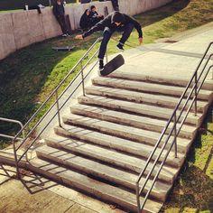 Taylor Smith tre flip