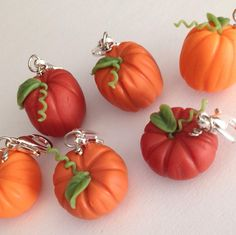 Pumpkins for Fall Polymer clay Charms | Crafty Amino