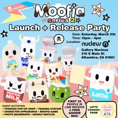 Moofia Series 2 Launch and Release Party