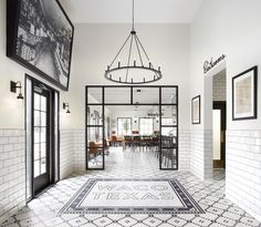 Chip & Joanna Gaines' Best Decors and Designs Magnolia Table Restaurant Design Chip Gaines, Chip Y Joanna Gaines, Restaurant Concept, Restaurant Design, Butcher Restaurant, Restaurant Interiors, Restaurant Ideas, Magnolia Table Restaurant, Home Interior