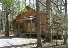 Log Cabin on Neils Creek - Peace and Quiet - 8 Feet from Creek! Burnsville, North Carolina Vacation Rental by Owner Listing 21631
