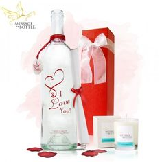 """Message In A Bottle """"CUPID"""" Personalized Gift   9 Romantic Secret Valentine Gift Ideas"""