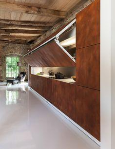 Скрытая кухня от Warendorf