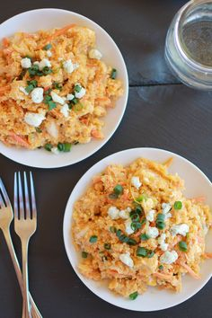 Buffalo Chicken Quinoa Salad from Half Baked Harvest! This dish looks mouth watering good! Can't wait to try!