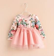Girls vintage pink floral princess dress - Perfect for party, birthday girl, flower girl Baby Outfits, Little Girl Dresses, Kids Outfits, Girls Dresses, Tutu Dresses, Fashion Kids, Baby Girl Fashion, Frock Design, Baby Dress