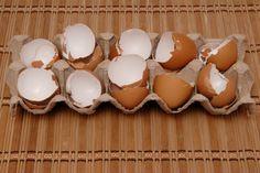 Natürliches Kalzium aus Eierschalen herstellen ~  How to extract natural calcium from eggshells