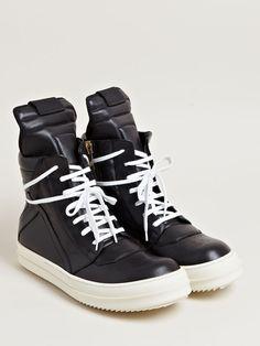 Rick Owens Men's Geobasket Sneakers