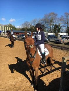 I had two goals for our first One Day Event at Monart Equestrian: Get home Have fun! Doesn't sound entirely ambitious, but for me just getting to a One Day Event is an exciting achievement, so completing it would have been icing on the cake. As the day approached, my nerves and anxiety continued to ... [Read more...]