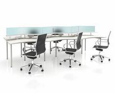 AGATI Furniture - Manifest Desking System Bay And Bay, Conference Room, Table, Furniture, Home Decor, Decoration Home, Room Decor, Tables, Home Furnishings