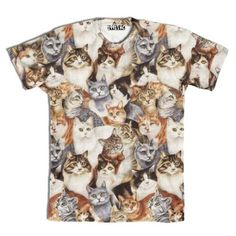 Manx Tabby Shorthair Kitty Cat Breed All Over Print Graphic T-Shirt | DOTOLY