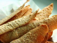 Biscoito de Azeite (vegana) serve como opcao para nachos