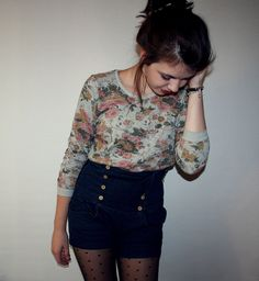 that hipster life Indie Fashion, Hipster Fashion, Fashion Outfits, Fashion Tips, Floral Fashion, Fashion Ideas, Soft Grunge, Rock And Roll, Looks Style