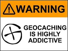 Warning!  #geocaching