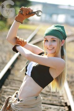 Winry (FMA) FMA is probably the only anime that non-asians cosplays look better ha