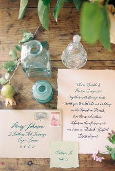Summer Garden Wedding Inspiration | SouthBound Bride | http://www.southboundbride.com/a-swartland-sonnet | Credit: Natural Light Photography