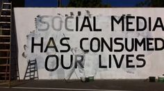 Social Media has consumed our lives #ThinkAboutIt