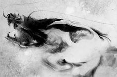 Illustration à l'encre de chine réalisée par Rola Chang - Graphiste LAB