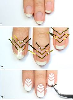 Follow the simple instructions and have amazing nails in no time!