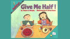 """Give Me Half!"" Level 2: Understanding Halves http://www.mathstart.net/give-me-half.html"