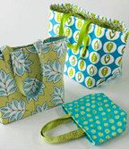 Pattern Stand 'N' Stow Bag by GabbysQuiltSupplies on Etsy, $9.00