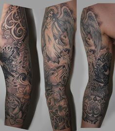 My completed sleeve