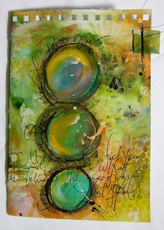 Mixed Media Journal  22 by Robenmariesmith on Etsy, $29.95