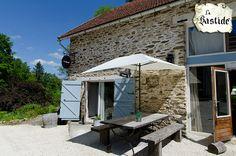 Vakantiehuis Bretagne, hoekhuis voor vier personen.