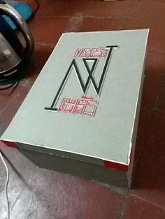 i make a box for my final exam