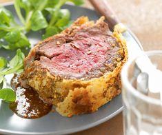 Découvrez la recette du #rôti de #bœuf en #croûte épicée, avec des astuces de Cyril Lignac