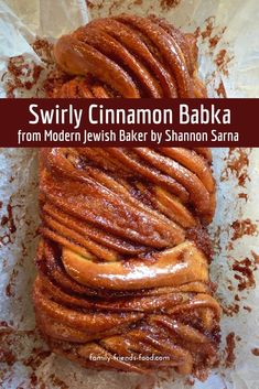 Just look at those swirls! This sweet, delicious, gooey cinnamon babka is absolutely perfect. (Recipe from Shannon Sarna's book Modern Jewish Baker. Bread Recipes, Baking Recipes, Breakfast Recipes, Dessert Recipes, Jewish Recipes, Jewish Desserts, Jewish Food, Food Scale, Sweet Bread