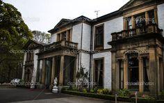 Altes Herrenhaus in Schottland — Stock Image #52297373