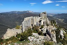 Peyrepertuse - Wikipedia, the free encyclopedia