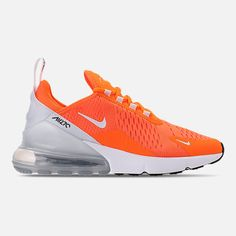 Shop Women's Nike Orange White size 7 Sneakers at a discounted price at Poshmark. Description: Nike Air Max Sold by gladdb. Nike Air Shoes, Men's Shoes, Sneakers Nike, Shoes Style, Black Shoes, Nike Air Max For Women, Nike Women, Fashion Models, Women's Fashion