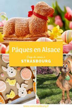 En Alsace, la fête de Pâques est la deuxième fête la plus importante après Noël. Elle est riche en traditions spécifiques qu'on ne retrouve pas dans le reste de la France comme l'Oschterputz, le jour férié du Vendredi-Saint, l'Oschterlammele ... Tourist Board, Strasbourg, Tourism, Sweet Life, Easter Party, Blue Skies, Turismo, Travel, Traveling