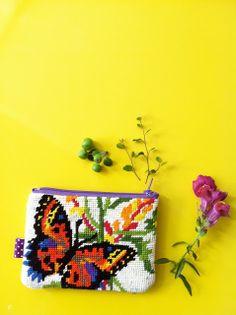 Porte-monnaie Papillon. © Dejolilou.