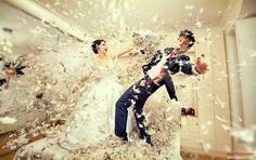 Ângulos inusitados para a cerimônia do casamento   Estilo