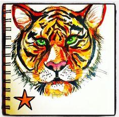 Tony Tiger by Lizzie Reakes