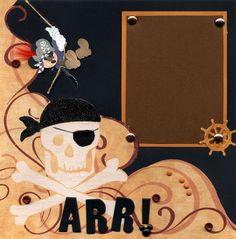 Pirate Mickey - Scrapbook.com