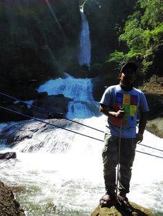 Curug Bajing, Salah satu keindahan alam kabupaten Pekalongan yang ...