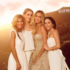 @laurenconrad1, our Fall 2014 cover girl and bride-to-be talks getting her besties ready for her own wedding and the launch of Paper Crown Bridesmaids, her line of 12 wear-them-again dresses, modeled here by three of her nine bridesmaids.
