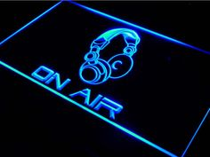 Check out this item in my Etsy shop https://www.etsy.com/listing/506881934/on-air-sign-headphone-icon-led-light