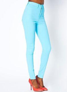 Aqua High-Waisted Jeans #aqua #jeans www.loveitsomuch.com