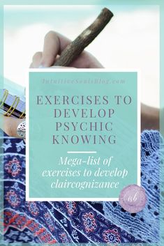 If you're wondering how the heck to develop your Inner knowing, you're in the exact right place! Here is a mega-list with oodles of super simple and fun claircognizance exercises and tips that will develop your claircognizant abilities. Empath Abilities, Psychic Abilities, Psychic Development, Spiritual Development, Tarot Learning, Spiritual Growth, Spiritual Gifts, Spiritual Wisdom, Spiritual Practices